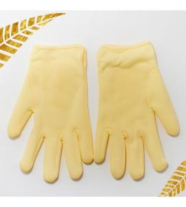 СПА-перчатки для ухода за кожей рук SCHERE NAGEL, желтые
