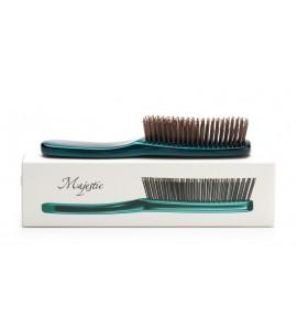 Расческа MAJESTIC GREEN для густых и длинных волос
